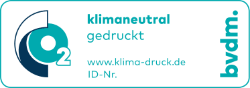 bvdm CO2-Siegel - klimaneutral drucken